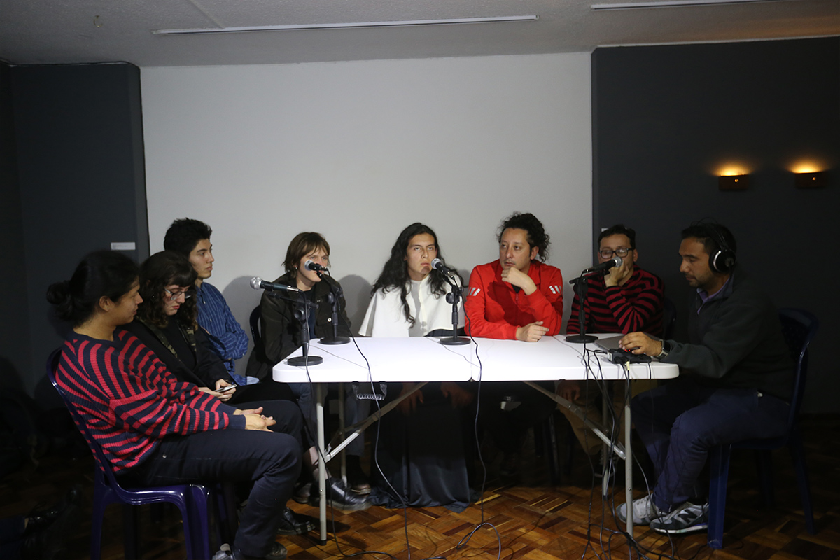 Exposición Deslizadores, Esbozos sobre el video y Laboratorio de Video Arte Puerto Contemporáneo - Red Galería Santa Fe.